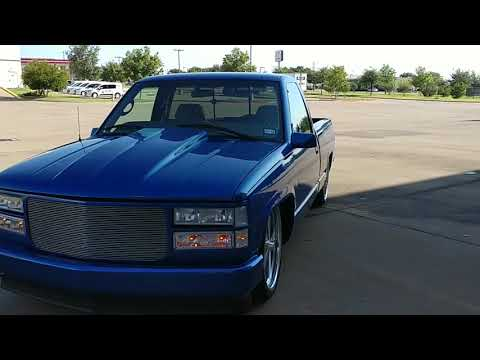 97 OBS Chevy Truck 1500 on Billets