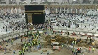 Haram Expansion Tawaf Area