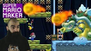 Brutal Batch of Levels | Super Expert No Skip Challenge | Mario Maker [#70]