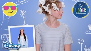 The Lodge | Hair Tutorial: Danielle | Official Disney Channel UK
