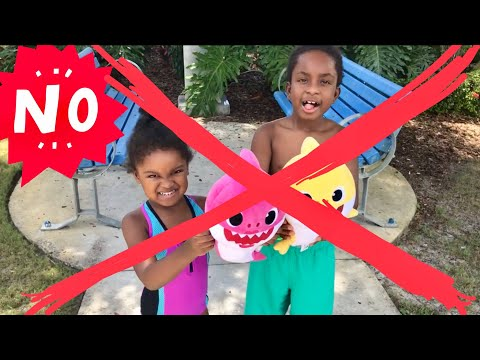 Ohh GOSH 🤦🏽♀️Another BABY Shark Video | Polluted Water