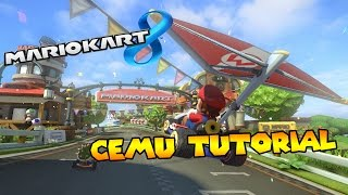 TUTORIAL - How to use Cemu Wii U Emulator!!!!!