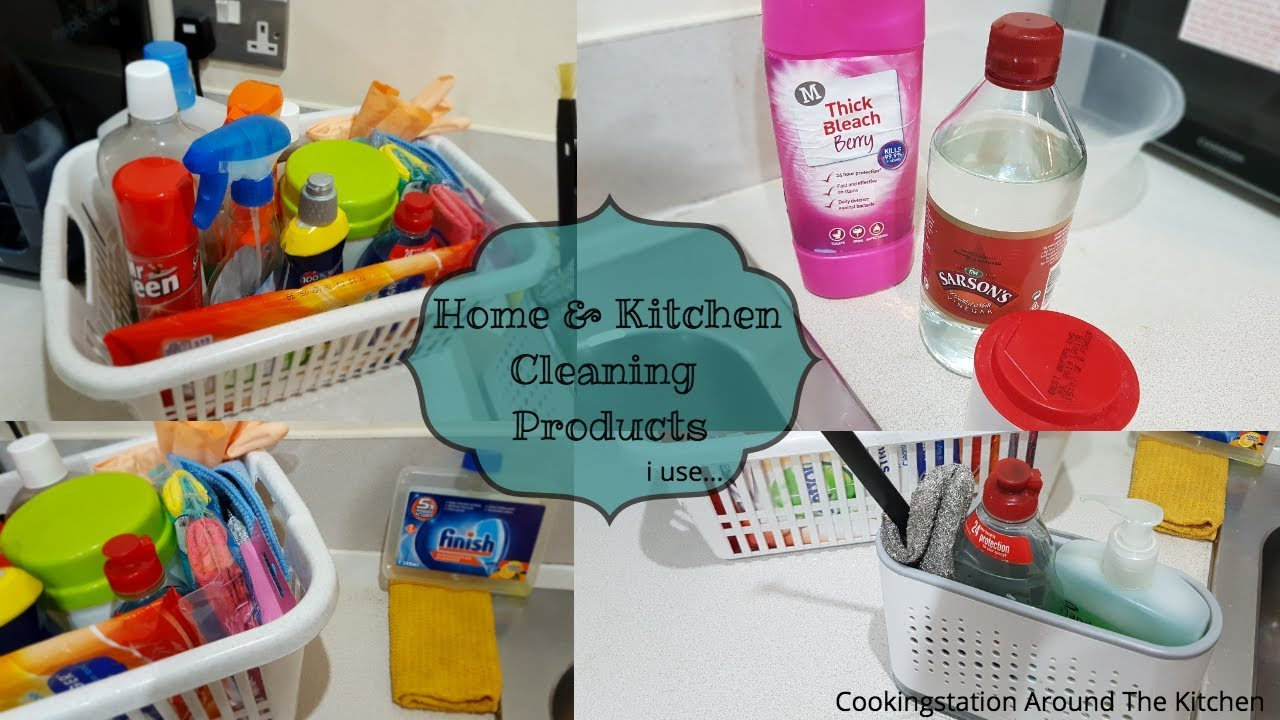 Whats in my cleaning caddy? | Cleaning products i use around the house for  normal & deep cleaning