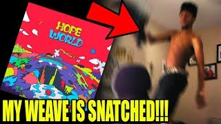 J-Hope - Hope World (FULL MIXTAPE) REACTION!!!