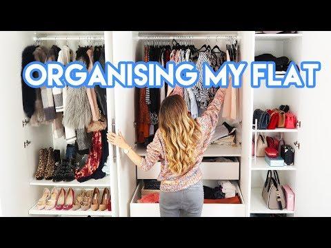 ORGANISING MY FLAT(/life) | Amelia Liana