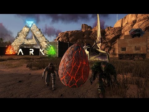 Data Plays - Ark: Scorched Earth - Live Stream 27 - Wyvern Egg Stealing - Pt 2