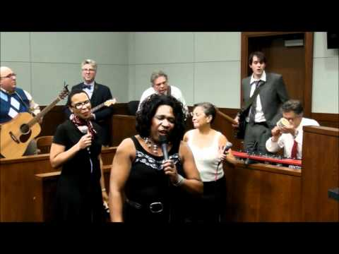 "Soultivity, Ann Arbor's all-attorney band, performing ""Use Me"" in 14-1 District Court"