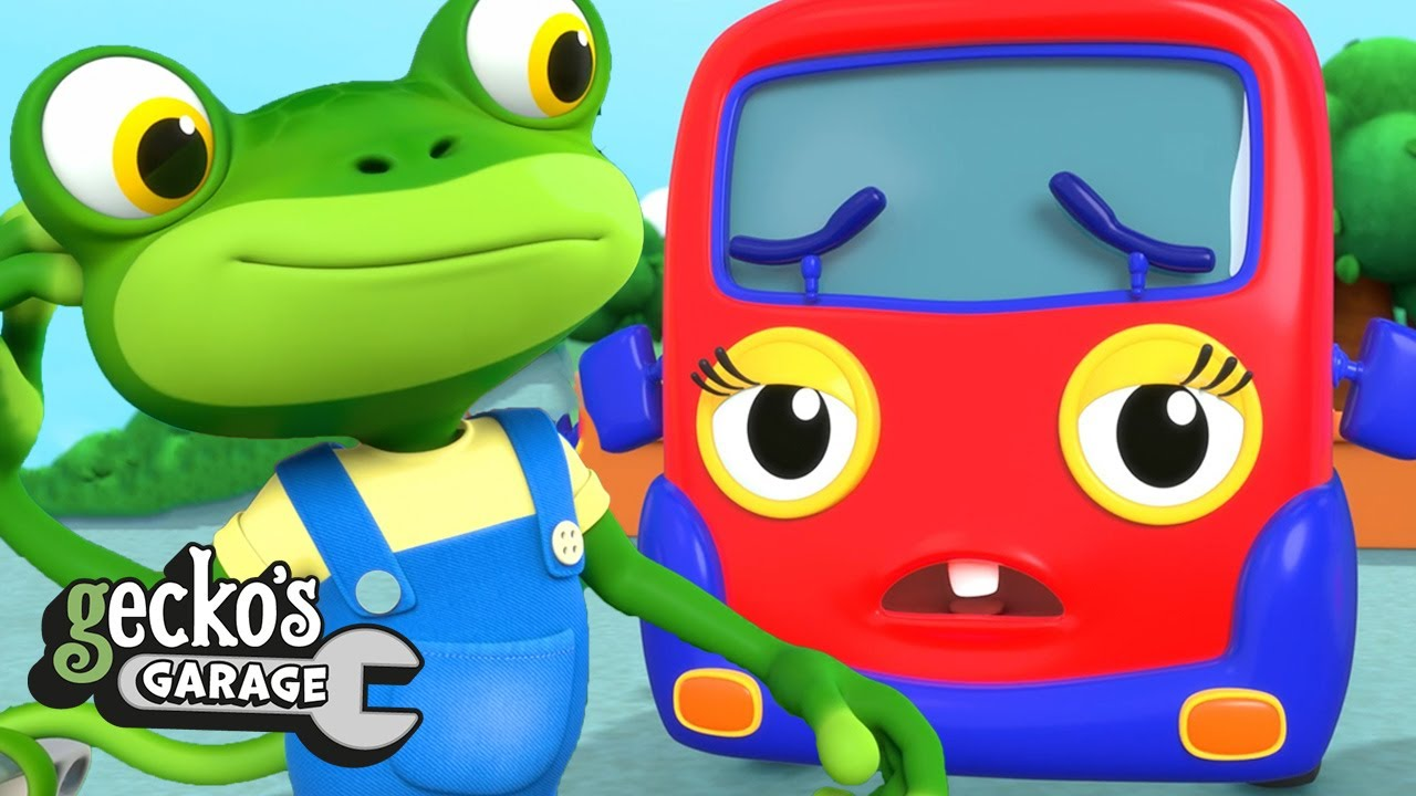 Baby Truck's Toothache|Gecko's Garage|Funny Cartoon For Kids|Learning Videos For Toddlers