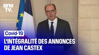 Covid-19: l'intégralité des annonces de Jean Castex à l'issue du Conseil de défense