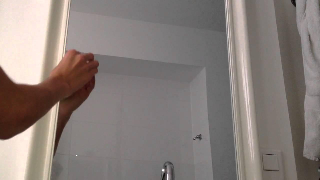 Comment éviter la buée: Empêcher la buée sur un miroir - Astuce entretien  miroir