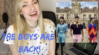 JONAS BROTHERS - Sucker [Musician's] Reaction & Review!