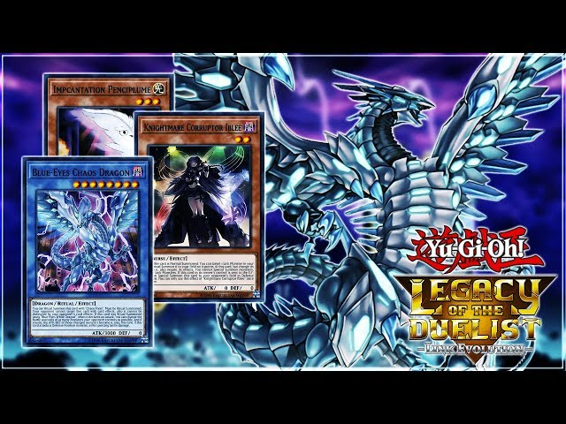 Yu-Gi-Oh! Legacy Of The Duelist: Link Evolution | Blue-Eyes Chaos MAX Deck! LIVE Duels & Profile!