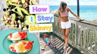 WORK OUT ROUTINE! How to Get Healthy &amp Fit!