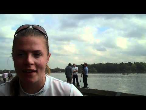 World Rowing Championships 2010: Anna Watkins interview