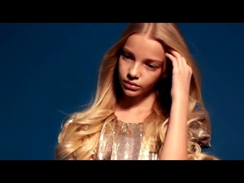 Kids fashion video for beautiful girl model SNEJANA GOLOVKO (by Daria Doronkina)