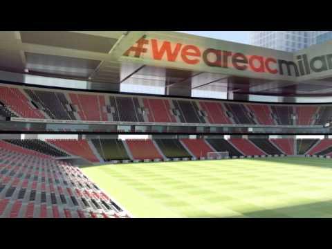 AC Milan   Le nouveau stade dévoilé