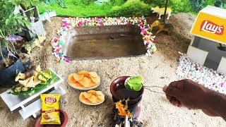 Mini Food Cooking Potato Chips | DIY Miniature Lay's | MINI COOKING VIDEO