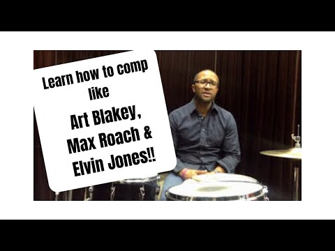 Q-Tip Jazz Drummer Lesson of the Week: Comp like Art Blakey, Elvin Jones and Max Roach!