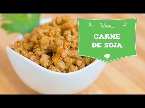 dieta carne de soja