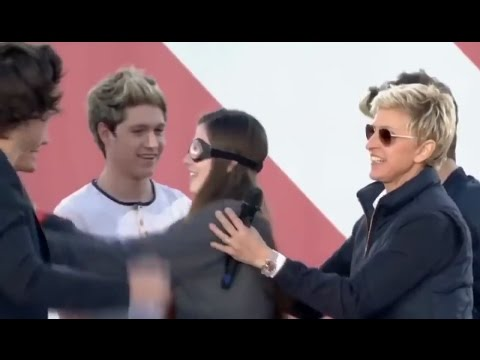 One Direction 'Touch My Body' on The Ellen...