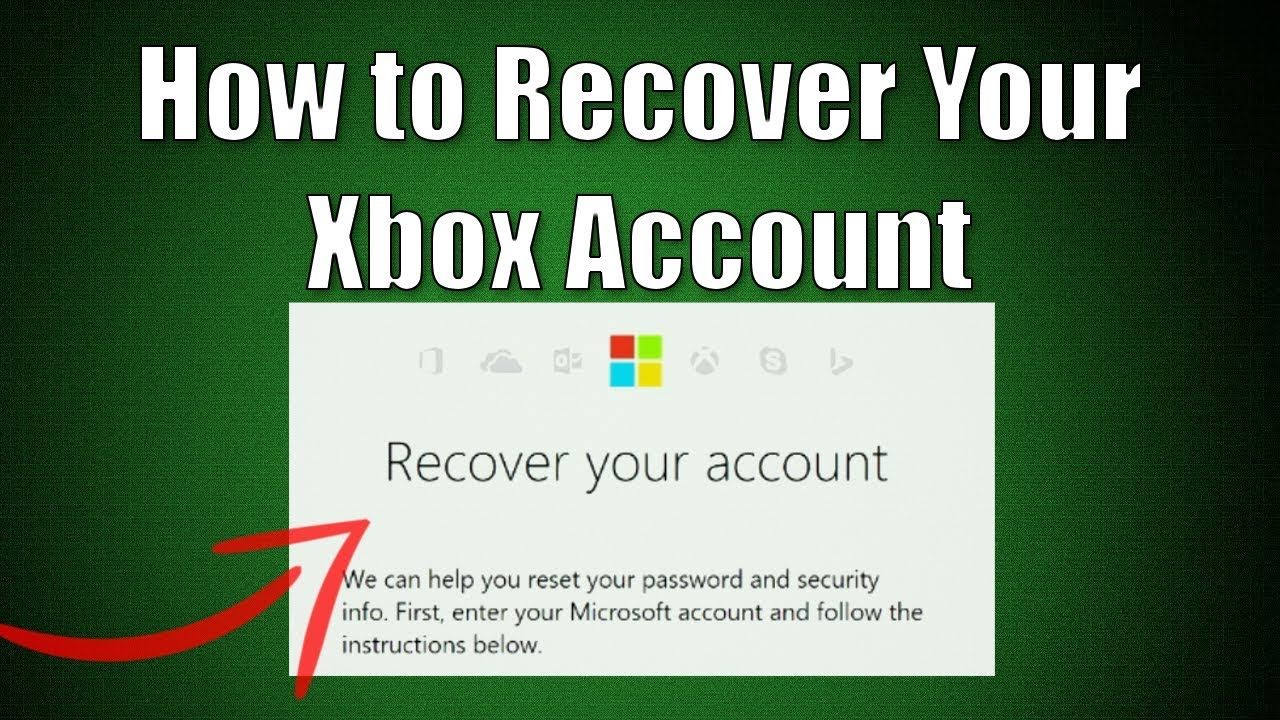 how to find out your microsoft password for xbox one
