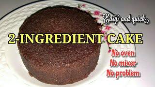 No Bake Cake With 2 Ingredients Only | Lockdown Cake | Lutong Probinsya | Panlasang Pinoy