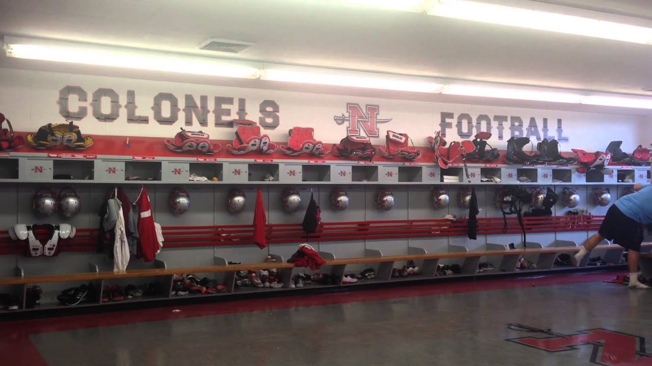 Nicholls Football Locker Room
