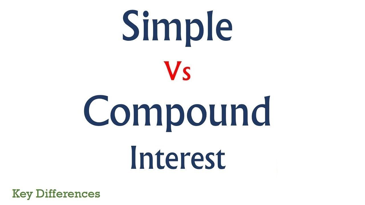 Simple Interest Vs Compound Interest Difference Between Them With