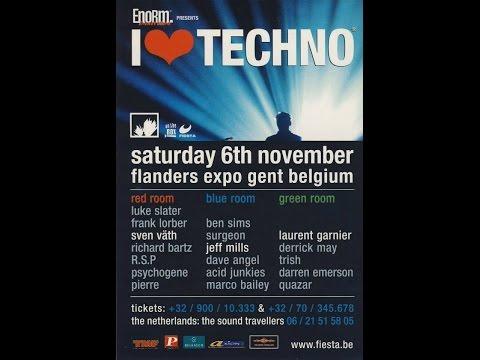 JEFF MILLS @ I Love Techno @ Flanders Expo (Gent):06-11-1999