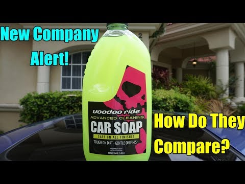 Voodoo Ride Car Soap Review on my Honda Prelude.