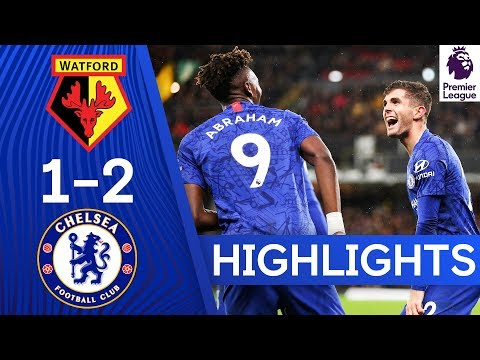Watford 1-2 Chelsea | Abraham & Pulisic Keep Up Fine Form | Highlights