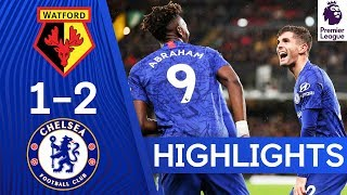 Watford 1-2 Chelsea  Abraham amp Pulisic Keep Up Fine Form  Highlights