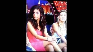 Nany Gonzalez sexy legs at Realworld Las Vegas Reunion