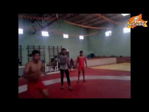 kartik kate back jump practice | davangiri Karnataka