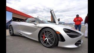 McLaren 720S Spider - First Look Walkthrough