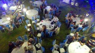Akhisar Ütopia Wedding Mavi Salon Helikopter Çekimi