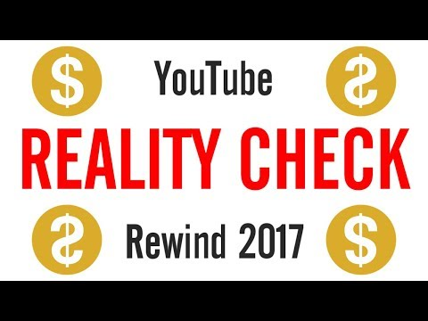 YouTube Rewind Reality Check 2017 #TankTheRewind