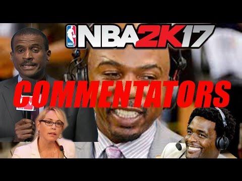 NBA 2K17 GAMEPLAY COMMENTATORS CONFIRMED