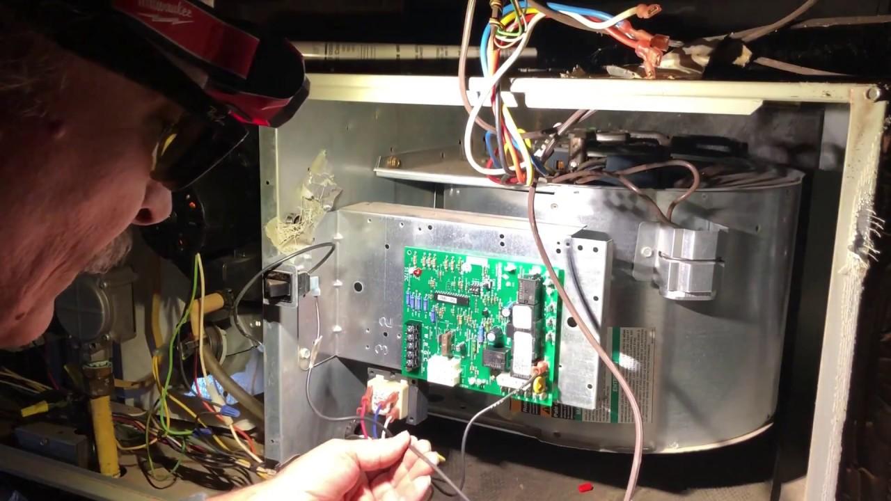 How To Replace Trane Gas Furnace Control Board Tuc1b060