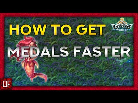How To Get Hero Medals Faster - Lords Mobile