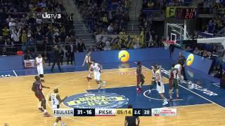 Fenerbahçe Ülker - Pınar Karşıyaka Maç Özeti Türkiye Basketbol Ligi