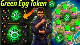 How to collect green eggs in treasure hunt in free fire in Telugu