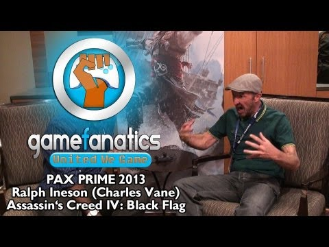PAX Prime 2013 - Ralph Ineson (Charles Vane) Assassin's Creed IV: Black Flag (Interview)