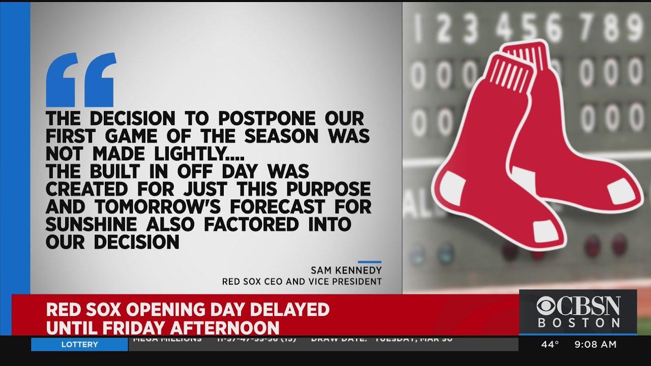Sox-O's postponed to Friday due to rain