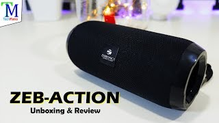 Zebronics ZEB-ACTION BT Speaker with TWS Function Unboxing and Review.