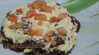 Печеночный торт из говяжьей печени(Предлагаем вам рецепт печеночного торта из говяжьей печени. Узнайте, как приготовить печеночный торт из..., 2014-01-10T22:58:59.000Z)