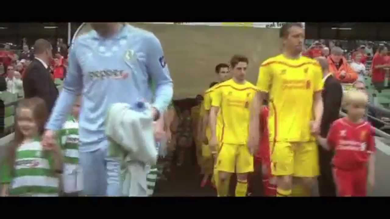 5962a0b29 DEMAND - Warrior LFC 2014 15 Away Kit Reveal - YouTube
