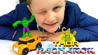 ТРАНСФОРМЕРЫ Автоботы Машинки Тоботы и Тор РАГНАРЁК Игрушки из фильма Transformer for kids