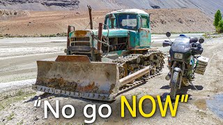 """Only Tajikistan Locals Take this Impossible """"Road"""""""