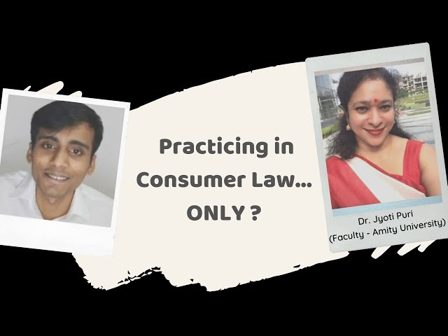 Is it possible to build a legal career only in Consumer Law ?
